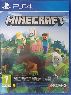 PS4-Minecraft: Bedrock Edition (English/Arabic) /PS4 GAME NUOVO