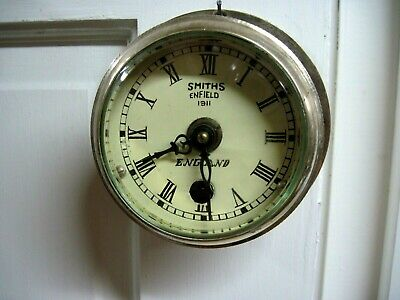 Vintage 1911 Smiths Enfield Small Ships Clock