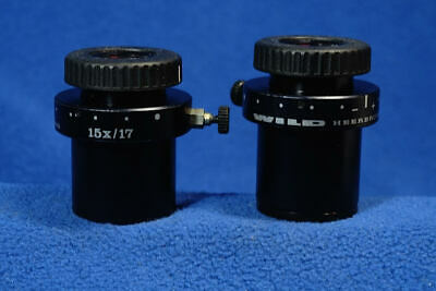Wild 15x Wide Field Microscope Eyepieces