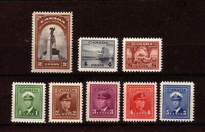 Canada - 8 Different Mint NH stamps