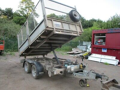 Ifor Williams Tt105 Cage Side Electric Tipping Trailer