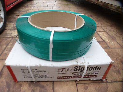 Heavy duty pallet banding / strapping, 1,600 metres per reel.