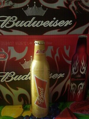1-2014 Limited Russian Fifa World Cup Bud Aluminum Beer Bottle Can By Budweiser