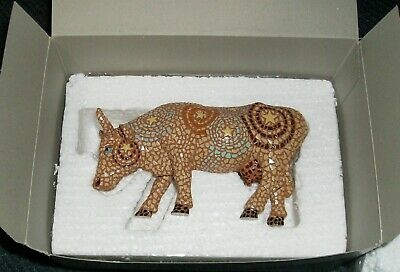 2002 Cow Parade A Starry Night in Texas No. 7255 Retired Figurine Not Displayed