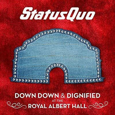 Status Quo-Down Down & Dignified At The Royal Albert CD NUEVO