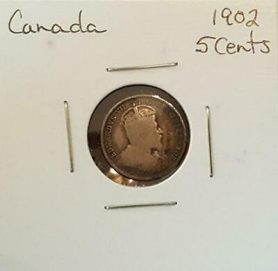1902 Canada 5 Cents - King Edward VII
