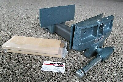 "Wilton 4"" x 10"" Pivot-Jaw Woodworkers Vise with Rapid Action ~ Model 79A"