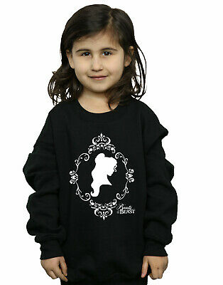 Disney Princess Girls Belle Silhouette Sweatshirt