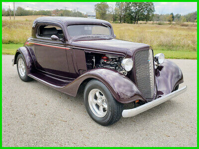 1934 Chevrolet Coupe 1934 Chevrolet 3-Window Coupe Chevy Street Rod 34 1934 Chevrolet 3-Window Coupe 350ci V8 Automatic Chevy Street Rod 34
