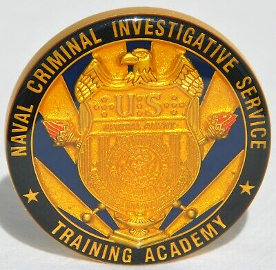 USN Navy Naval Criminal Investigative Service Academy NCIS FLETC Challenge Coin