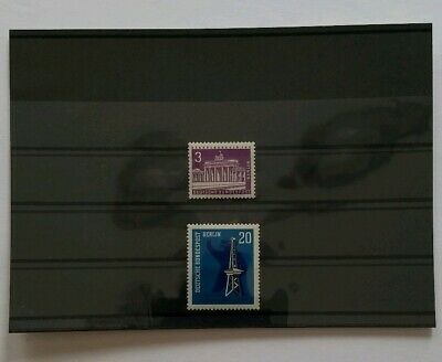 Germany BERLIN Complete Year 1963 Stamp Set Mint Never Hinged MNH German Stamps