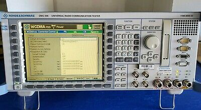 Rohde & Schwarz CMU200 Communication Tester, Excellent Condition
