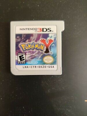 Pokemon Y (3DS, 2013) - Game Cartridge Only