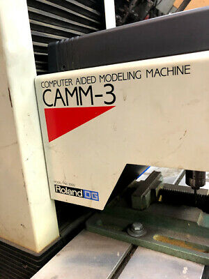 Camm-3 Computer Aided Modeling Machine By Roland