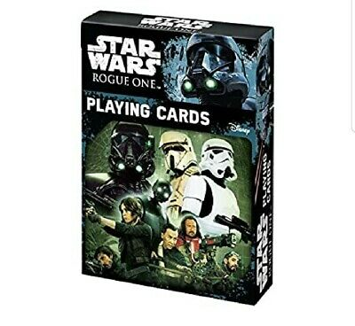 Star Wars Rogue One Playing Cards NEW Sealed
