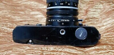Nikkormat FT3 w/ Nikkor-2 50mm F1.4 Ais Lens. Black body. Good condition.