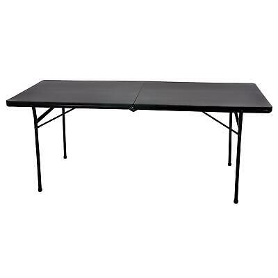 Heavy Duty 6ft Folding Trestle Table 300kg Max Load Catering Camping BBQ DIY
