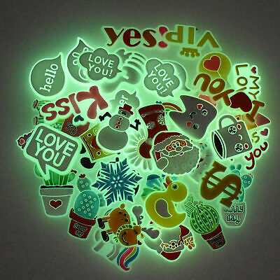Summer Stylish 40pcs Glowing Shoe Charms Adapts fit Hole Shoes Duck Plant Phrase
