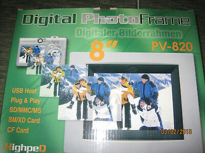 Digitaler Bilderrahmen 8""