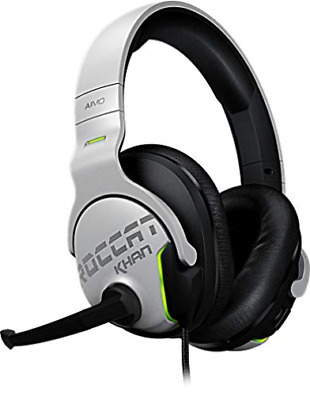 TURTLE BEACH-Khan AIMO - 7.1 High Resolution RGB Gaming Headset White NUEVO