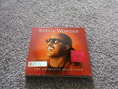Stevie Wonder - The Definitive Collection 2CD  2003