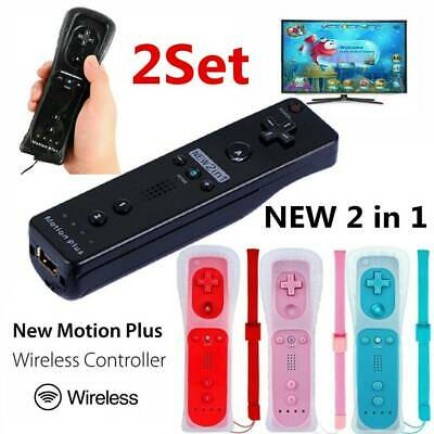 Built in Motion Plus Inside Remote Controller For Nintendo Wii / Wii U Wiimote