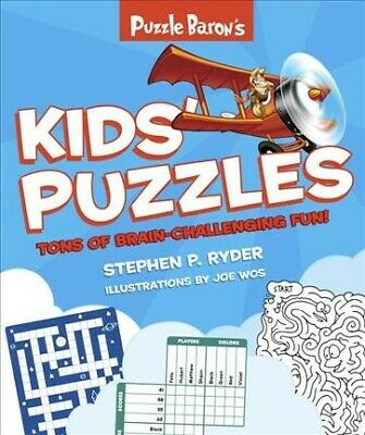 Puzzle Baron's Kids' Puzzles, Paperback by Dorling Kindersley Limited (COR), ...
