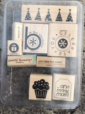 Stampin Up Party Hearty