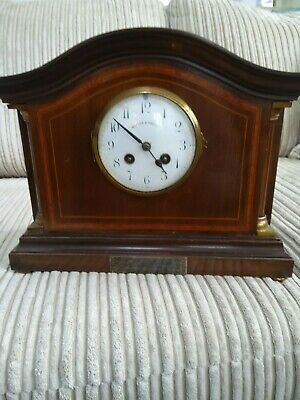 antique clocks walker and hall mantle clock comes with key works