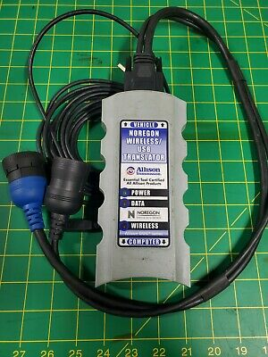 Noregon Wireless/USB Translator Allison Transmission w/ 6/9 Pin Connector Cable