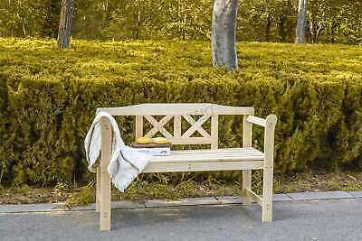 WestWood Outdoor Home 2 Seat Seater Wooden Garden Bench wood Patio Park