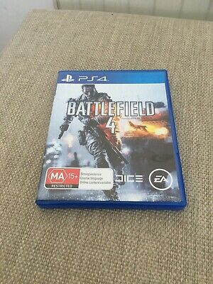 Battlefield 4 Ps4 Great Condition *Next Day First Class Post*