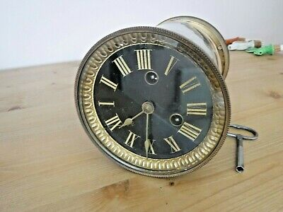 Antique French Mantel Clock Movement in Working Order.