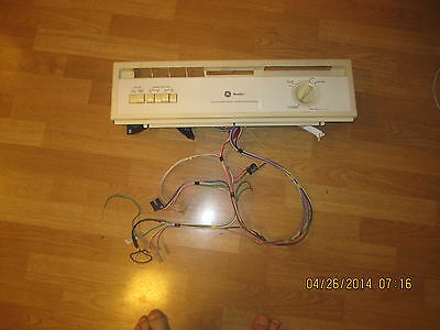 GE DISHWASHER WD34X10386 ESCUTCHEON  with timer and wiring harness