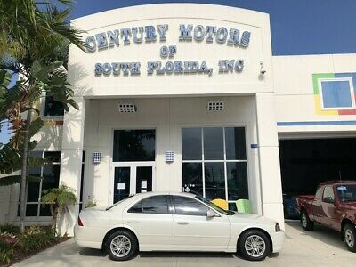 2006 Lincoln LS  Heated and Cooled Leather CD Changer AUX Keyless Entry Alloy Wheels