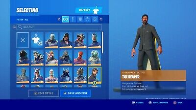 Stacked Og Fortnite Account With Soccer Skin,Reaper,Take The L, Dab + More!!