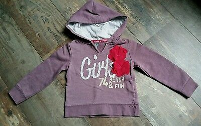 Sweat capuche fille ZARA taille 2/3 ans