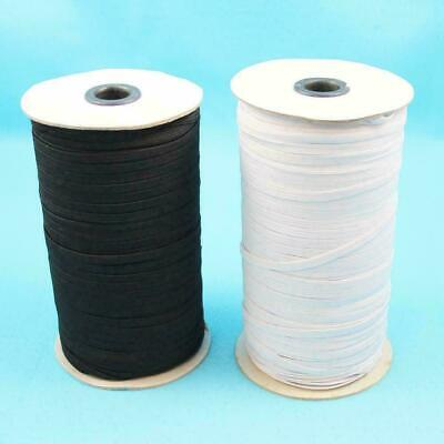 2, 5 or 10 METRES OF FLAT CORD ELASTIC SEWING MAKING FACE MASKS CLOTHES