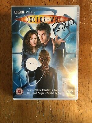 Dr Who DVD Series 4 Vol 1 Signed By Phil Davis