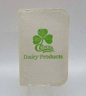 Clover Creamery Dairy Products Pocket Health Booklet Promotional Advertising