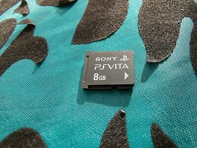 Genuine Official Sony Playstation Vita|PS Vita|8GB Memory Card|Same Day Dispatch