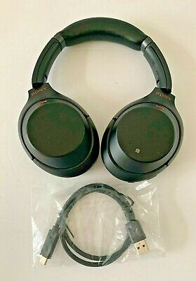 Sony WH-1000XM3 Black Wireless Noise-Canceling On-Ear Headphones Working (Read)
