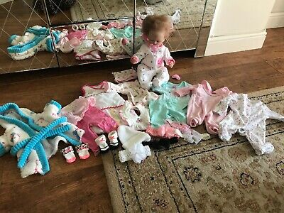 Real life/reborn newborn doll bundle
