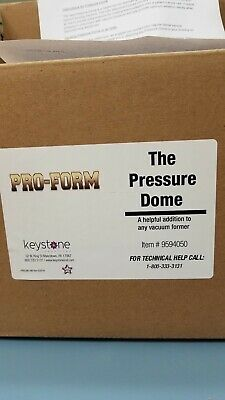 Keystone PRO-FORM the pressure dome, used