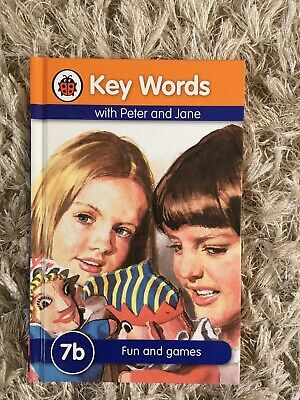 Peter and Jane Ladybird Book Key Words 7b