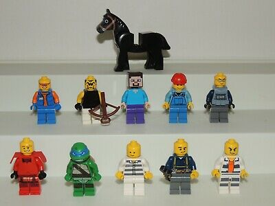Lego Lot mixed figures, animals more from different Sets!