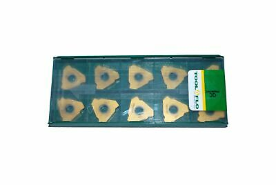 10pc ToolFlo 16IR AG60 GP50C Laydown Coated Carbide 60/° V Threading Inserts Internal Made in USA