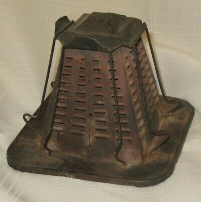 """""""Antique Fire Stove 4 Slice Toaster"""""""