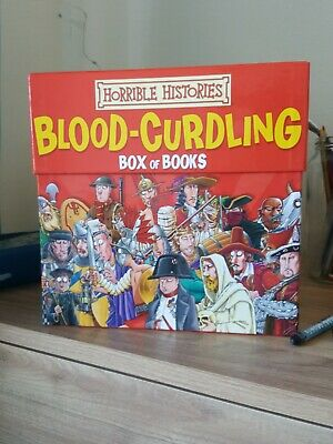 Horrible Histories Blood Curdling Box Set
