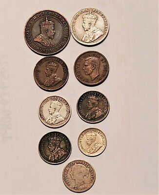 Mixed Lot of Canadian coins - Cents, Nickels, Dimes